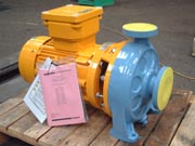 N Series pump for Crest Process Engineering pumping propylene glycol