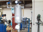 System 1000 pressure vessel at Silverson Machines Ltd in use in their test house