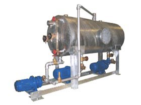 Special condensate package designed for Jacobs with an additional pump