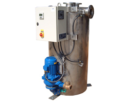 Ci-Nergy intelligent condensate recovery unit automatically adjusts to your system conditions